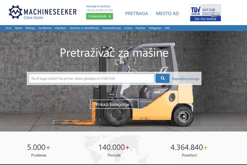 Montenegro Machineseeker