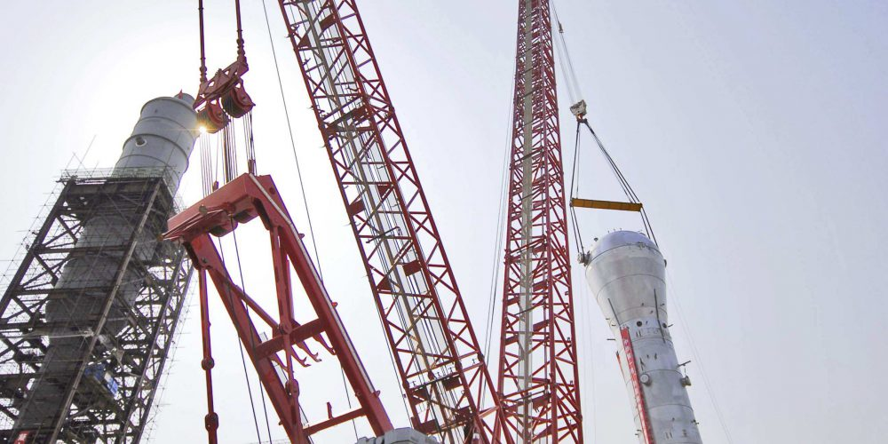 Top 10 largest & strongest cranes in the world